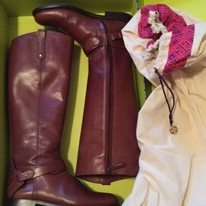 Authentic Tory Burch high riding boots